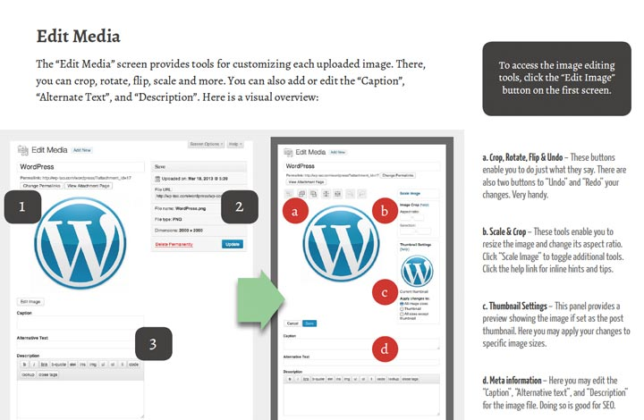 Screenshot from The Tao of WordPress: Full-Color Graphics
