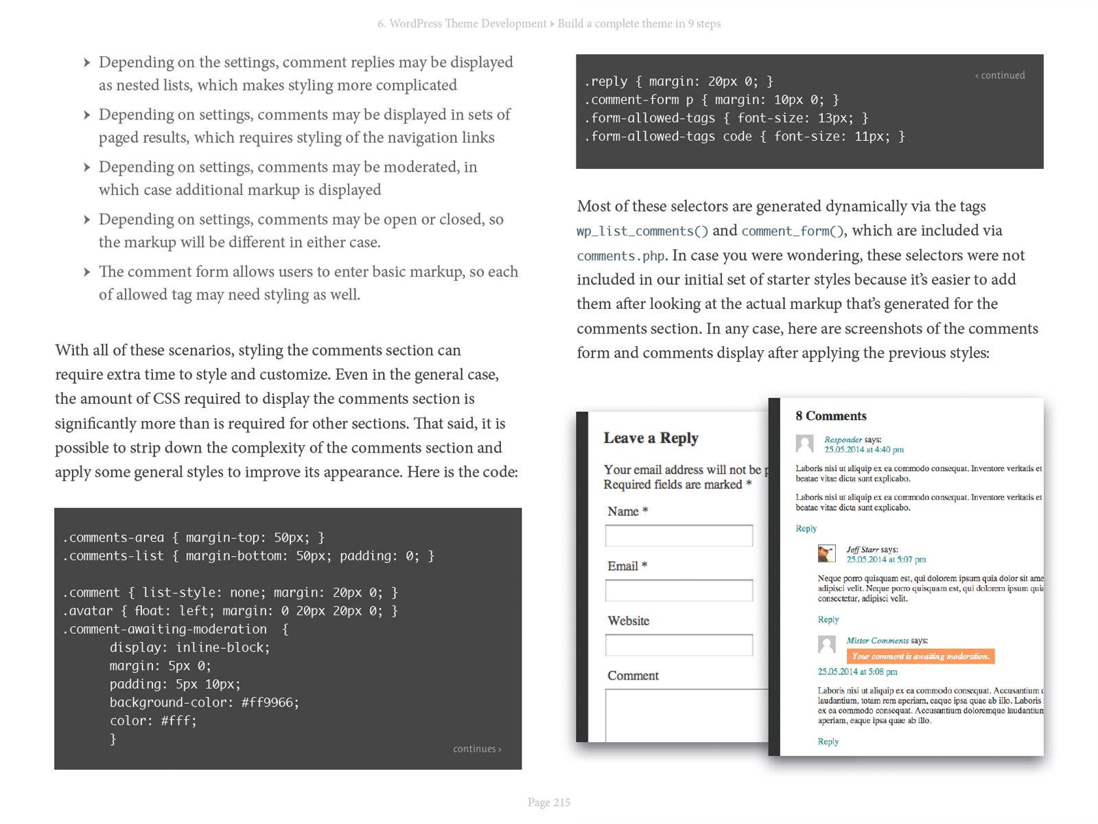 WordPress Themes In Depth | Perishable Press Books